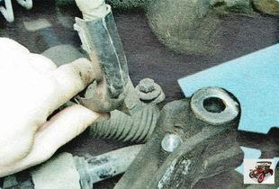 держатель жгута проводов рулевого механизма