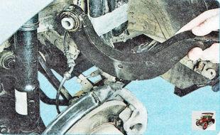 верхний поперечный рычаг задней подвески Шкода Октавия А5