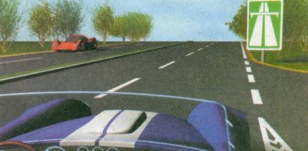 Двигаясь по автомагистрали (знак 5.1 «Автомагистраль») на легковом автомобиле, вы можете развивать скорость не более 110 км/ч