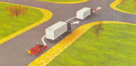 Водители приближаются к нерегулируемому перекрестку равнозначных дорог, а обгон на нем запрещен...