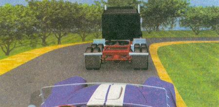 Обгон запрещен на опасных поворотах и на других участках с ограниченной видимостью...