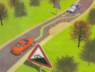 В случае если встречный разъезд затруднен, водитель, на стороне которого имеется препятствие, должен уступить дорогу...