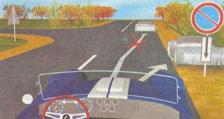 Табличка 8.2.3 «Зона действия» указывает место, в котором заканчивается зона действия знака 3.28 «Стоянка запрещена»...