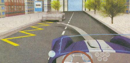Поскольку в населенных пунктах остановка на левой стороне дороги с одной полосой движения в каждом направлении разрешена...