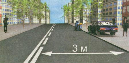 В данной ситуации нарушил правила стоянки только водитель легкового автомобиля, так как припарковал машину прямо на тротуаре...