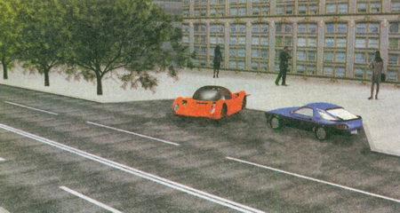 В данной ситуации никто из водителей не нарушил Правила, так как они поставили автомобили в месте уширения проезжей части...