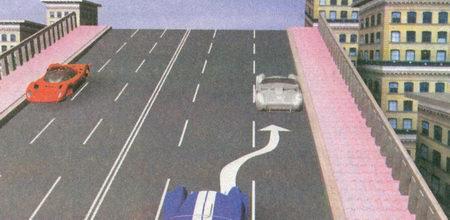Вы можете остановиться в указанном месте, поскольку при наличии трех и более полос движения в данном направлении остановка на мостах разрешена