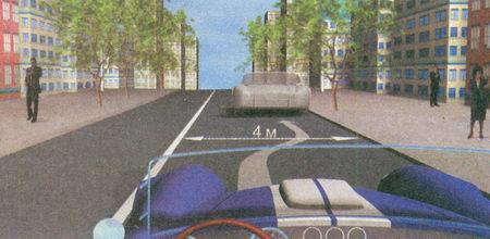 Поскольку расстояние между автомобилем и сплошной линией разметки (с учетом габаритов автомобиля) менее 3 м, вы не можете остановиться в данном месте