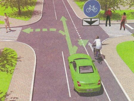 При повороте направо или налево водитель обязан уступить дорогу пешеходам, переходящим проезжую часть дороги...