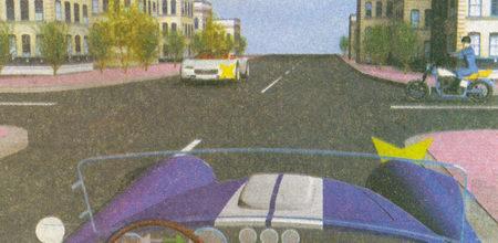 На данном перекрестке вы не должны уступать дорогу мотоциклу, находящемуся справа...