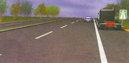 Оба водителя нарушили правила остановки, так как на автомагистралях остановка разрешена только на специальных площадках для стоянки...
