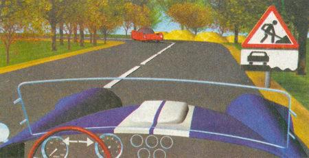 Знак 1.25 «Дорожные работы» предупреждает вас о том, что на дороге ведутся ремонтные работы