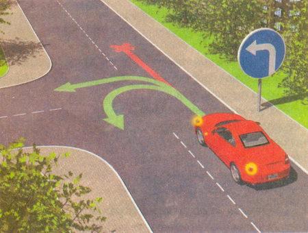 Знаки, разрешающие поворот налево, разрешают и разворот