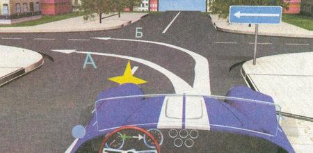 Знак 5.7.2 «Выезд на дорогу с односторонним движением» информирует о том, что на пересекаемой проезжей части движение осуществляется...