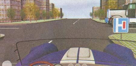 Наличие знака 6.8.2 «Тупик» не меняет порядка проезда перекрестков равнозначных дорог, в соответствии с которым вы должны уступить дорогу грузовому автомобилю...