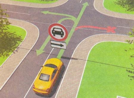 8.3.1-8.3.3 «Направления действия». Указывают направления действия знаков, установленных перед перекрестком, или направления движения к обозначенным объектам, находящимся непосредственно у дороги.