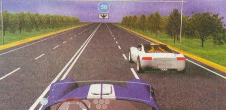 Знак 4.6 «Ограничение минимальной скорости» и табличка 8.14 «Полоса движения» предписывают двигаться по левой полосе со скоростью не менее 50 км/ч...