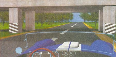 Данная разметка обозначает опоры моста, которые могут представлять опасность для ТС