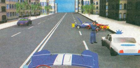 В данном случае (произошло ДТП, на дороге находится автомобиль ДПС с включенным проблесковым маячком синего цвета) вы должны снизить скорость и быть готовыми при необходимости остановиться
