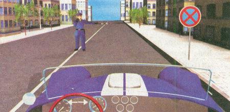 Водитель должен остановиться у тротуара, так как обязан выполнять распоряжения регулировщика даже...