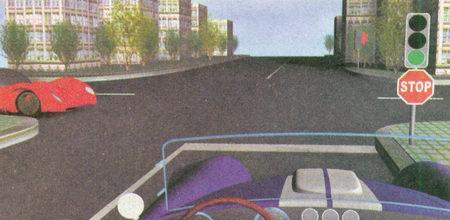 Приближаясь к регулируемому перекрестку, водитель может проехать его без остановки, поскольку...