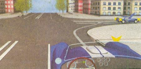 При повороте направо вы должны двигаться по возможности ближе к правому краю проезжей части...