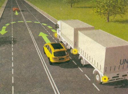 При повороте налево или развороте вне перекрестка водитель безрельсового транспортного средства обязан...