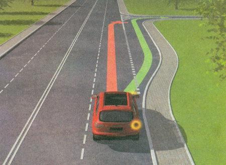 При наличии полосы торможения водитель, намеревающийся повернуть, должен своевременно перестроиться на эту полосу и снижать скорость только на ней.