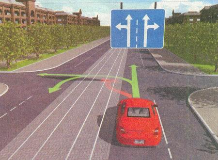 Разрешается движение по трамвайным путям попутного направления, расположенным слева на одном уровне...