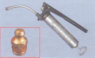 пресс-масленка, шприц для смазки шлицевого соединения