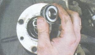 сепаратор с роликами и внутренним кольцом наружного подшипника ступицы