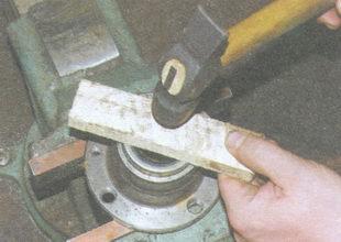 установка сальника в ступицу