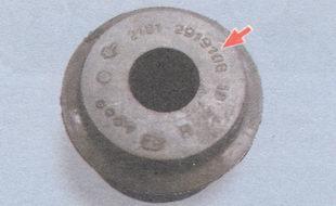 маркировка резиновой втулки