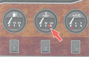 указатель температуры охлаждающей жидкости ваз 2106