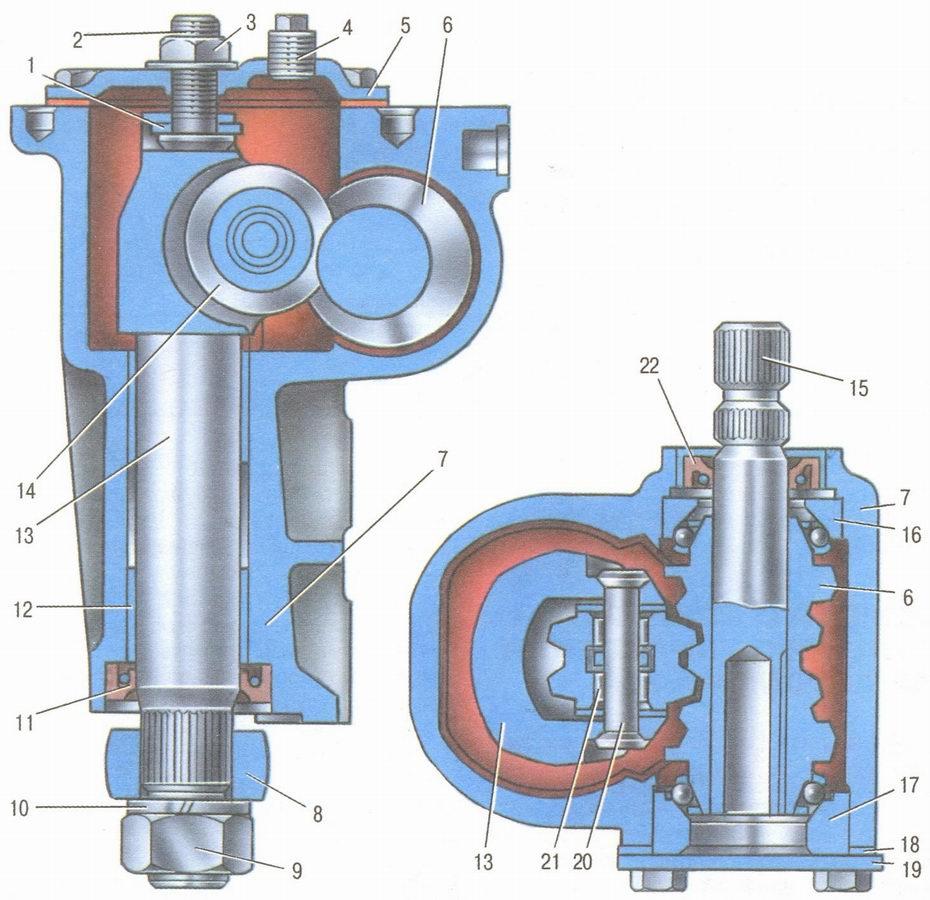 схема работы сцепления ваз-2106