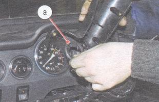 а - уплотнительное кольцо замка зажигания