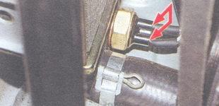 датчик включения вентилятора системы охлаждения ваз 2106