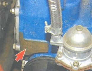 модель и номер двигателя