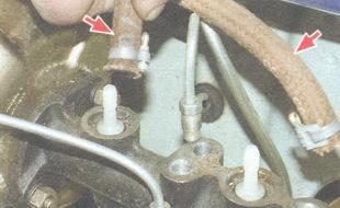 хомуты крепления шлангов к штуцерам главного тормозного цилиндра