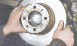 тормозной диск ваз 2106