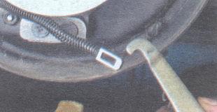 наконечник троса привода стояночного тормоза