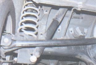 проверка задней подвески ваз 2106