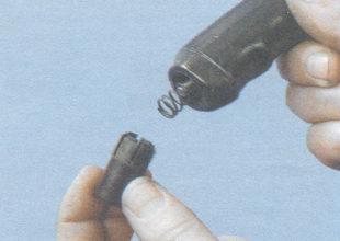 кнопка ручки рычага стояночного тормоза
