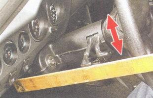 проверка люфта рулевого колеса ваз 2106