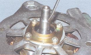 шпонка шкива генератора
