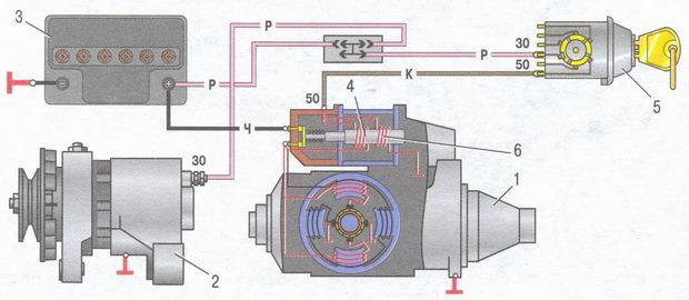 Электрическая схема машин.