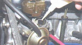 смазка трамблера ваз 2106