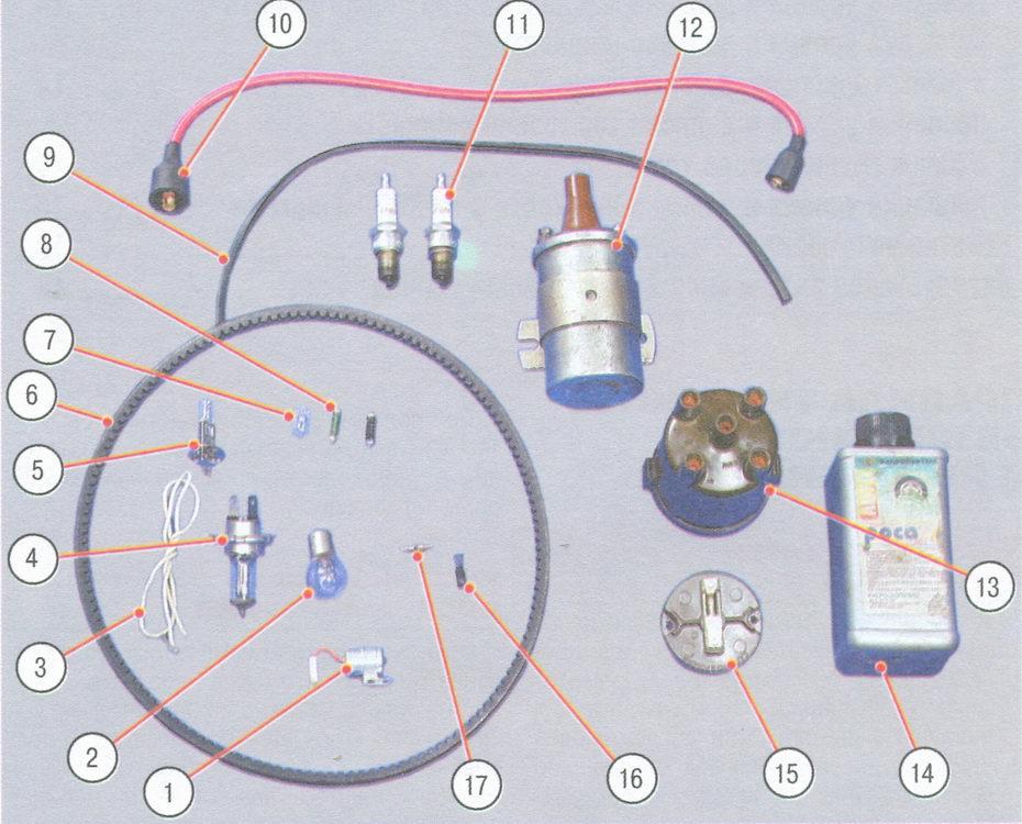 Запасные части ВАЗ 2106
