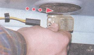 рассеиватель лампы освещения багажника