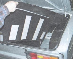 обивка багажника задняя правая